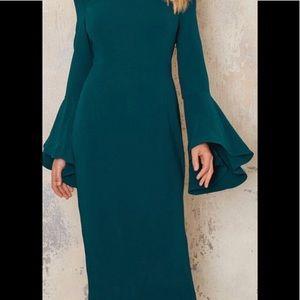 Bardot NWT Solange Off The Shoulder Midi Dress